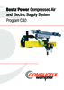 BestaPower Compressed Air and Electric Supply System Program C40