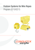 Festoon Systems for Wire Ropes | Program 0210/0215