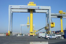 Power supply for the crab of 4 automated stacker cranes (ASC)
